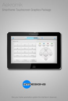 Home Theater graphics package for touchscreen remote controls and apps. By NTDesigns www.ntdesignsonline.com