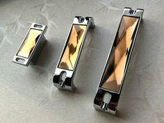 1.25 3.75 5 6.3 Glass Dresser Drawer Handles by LynnsHardware
