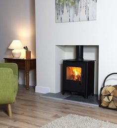 Living Room Idea with Log Burners New Loxton 6 Defra Approved Multifuel Stove – Ideas for Home Decor New Homes, Home Living Room, House, New Living Room, Home, Log Burner Living Room, Living Spaces, Fireplace, Room