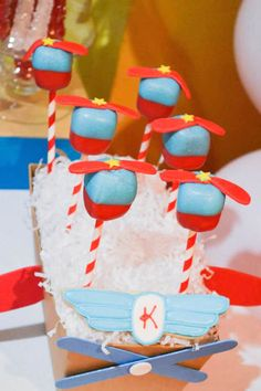 Mickey Mouse Aviator themed birthday party