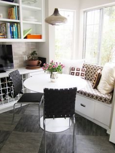 Breakfast Nook Seating. Full Size Of Surprising Breakfast Nook Rectangle White Wooden Laminate Dining Table White Patterned Cushion White. Built In Breakfast Nook Bench Plans. Kitchen Nook Bench Securing The Frame To The Wall. Family Time Is Very Important And Many Families Might Use The Breakfast Nook Set As A Place To Gather For Family Meetings Or Family Game Night. Kitchen Design With Breakfast Nook. Endearing Bench Seating Kitchen Nook Amazing Decorating Kitchen Ideas Pictures. Corner…
