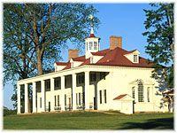 Mount Vernon.  Home of George Washington.