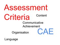 Advanced English from Oxana (AEfO): CAE Writing: Assessment
