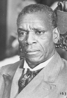 "Moses Gunn (1929-1993) aged 64  Obie Award-winning stage player, he co-founded the Negro Ensemble Company in the 1960s. His 1962 Off-Broadway debut was in Jean Genet's The Blacks,"" and his Broadway debut was in ""A Hand is on the Gate,"" an evening of African American poetry. He was nominated for a 1976 Tony Award as Best Actor (Play) for The Poison Tree and played Othello on Broadway in 1970."