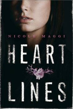 #CoverReveal Heartlines by Nicole Maggi