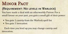 Warlock Spell List, Warlock Spells, Warlock Dnd, Dungeons And Dragons Classes, Dungeons And Dragons Homebrew, Dnd Feats, Character Sheet, Character Creation, Dnd Races