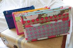 Looking for your next project? You're going to love The Pocket Pouch Purse Insert by designer Ms. Elaineous.