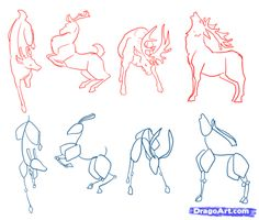 Imagem de anatomia, deer, and illustration