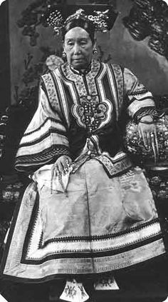 Empress-Dowager Cixi (1835-1908), was the last empress of China. Her greatest mistake and miscalculation was to support the Boxers - the peasant uprisings against foreigners in China - which led to a military invasion by the Great Powers and the occupation of Beijing. Empress Cixi's efforts at reform were too little and came too late to save the Manchu dynasty. She will be remembered as the world's last absolute ruler to occupy a throne.