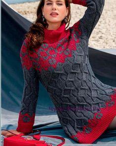 Платье с жаккардовыми узорами 614