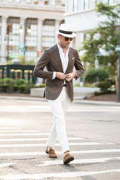 A White pant Suit outfit - Men's Fashion Blog - TheUnstitchd.com
