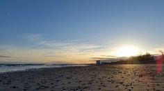 #Sonnenaufgang heute früh an der #Ostsee bei #Warnemünde