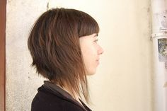 cool bangs by wip-hairport, via Flickr. The most amazing salon on the planet. Must get to Lisbon someday...