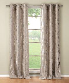 This Taupe Blair Blackout Curtain Panel - Set of Two is perfect! #zulilyfinds