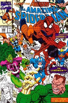 Amazing Spider-Man #348 by Erik Larsen