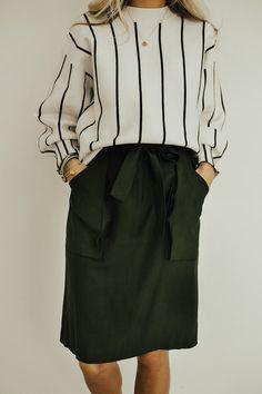 Tripoli Ribbon Skirt | ROOLEE