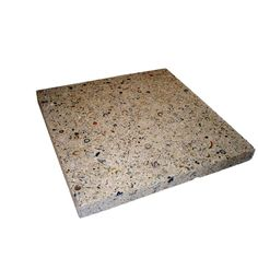 Earth Surfaces of America 24 in. x 24 in. Paver Buff with Shells and Abalone (96 sq. ft. per pallet)