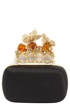 This Alexander McQueen clutch is a true work of art
