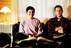 """Mary Margaret, David and Emma - 4*4 """"The Apprentice."""" #TheCharming's #Snowing"""