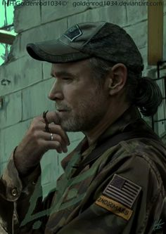 "Will Patton as Col. Dan Weaver from the TV Show ""Falling Skies"".  What a beautiful photo of Will Patton. VTP"