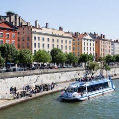 Lyon City Boat - Navilys quai des Célestins