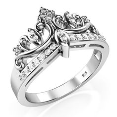 $12, size 8, crown on knowledge ring Jet.com