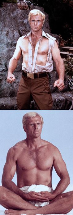 Ron Ely in Doc Savage: The Man of Bronze (1975)