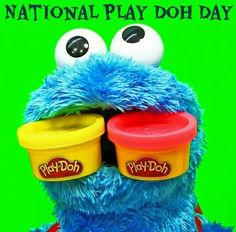 National Play-Doh Day. September 16th
