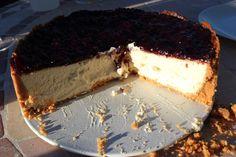 New York Cheesecake con chocolate blanco - LA TARDE LIBRE