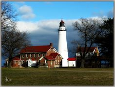 Fort Gratiot Coast guard station and lighthouse