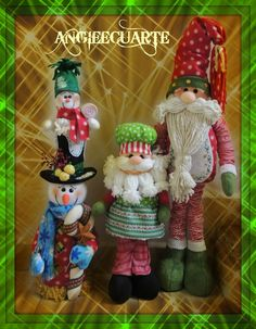 Xmas, Christmas Ornaments, Santa, Holiday Decor, Crafts, Leo, Holidays, Patterns, Home Decor