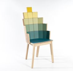 Loaves&Fishes chair by Alessandro Zambelli
