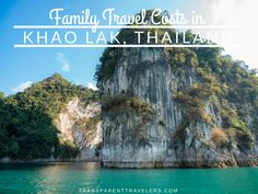 Family Travel Costs in Thailand | Family Travel Blog | Transparent Travelers