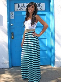 Make your own maxi skirt