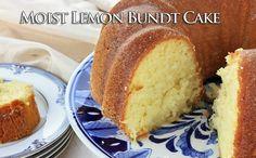 Moist Lemon Bundt Cake - HowToInstructions.Us