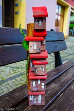 Wood handmade Bird, Outdoor Decor, Handmade, House, Home Decor, Hand Made, Decoration Home, Home, Room Decor