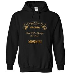 Virginia from Missouri - #gift wrapping #gift for men. ORDER HERE  => https://www.sunfrog.com/States/Virginia-from-Missouri-4838-Black-5499310-Hoodie.html?id=60505