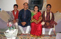 Индийская семья фотография