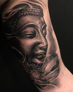 dario www. Leg Tattoos, Sleeve Tattoos, Buda Tattoo, Madrid Tattoo, Blackwork, San Bernardo, Lotus Tattoo, Watercolor Tattoo, Tatting