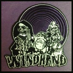 """3-Color die-cut, embroidered patch with iron-on backing.  The photograph does not do it justice.  Measures approximately 5""""x5"""""""