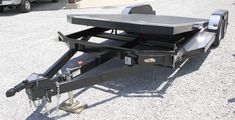 Tilt Bed Trailers - We can special order any size trailer to fit your needs! Tilt Trailer, Car Hauler Trailer, Trailers, Trailer Plans, Trailer Build, Trailer Hitch, Trailer Suspension, Engine Stand, Tractor Attachments