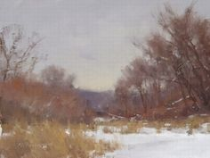 No Shadows Today by Marc Hanson Oil ~ 9 x 12