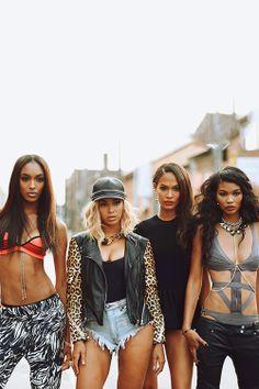 Jourdan Dunn, Beyonce Knowles-Carter, Joan Smalls, Sessilee Lopez