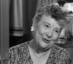 Madge Blake- many roles: The Real McCoys, Larry Mondello's mom on Beaver, Aunt Harriet to Batman, etc.