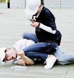 Song Ji Hyo and Yoo Jae Suk, Running Man ep. 311. © on gif