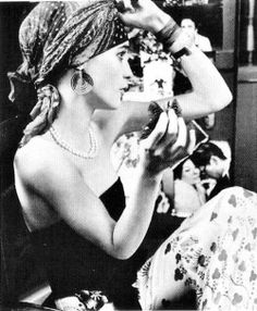 Loulou de la Falaise. From the book, The Beautiful Fall by Alicia Drake