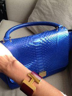 Celine Bag & Hermes Bracelet
