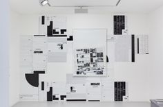 "MICHAEL RIEDEL, PRINTED AND UNPRINTED POSTERS 2003-2008: really rad concept: taking information from websites, museum exhibits, etc. about his previous works and frankenstein-ing them for re-presentation. ""a circuit made up of exhibitions, media exposures and interpretations."""