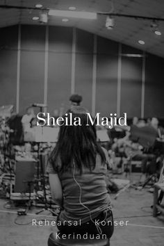 Dibalik Konser Kerinduan - Sheila Majid (rehearsal)