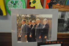 https://flic.kr/p/8tmemM | Tea Room President Dogs at President Park | Bush, Regan, Carter, Ford, Nixon